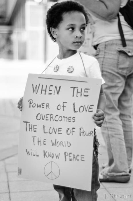 Love really is Power